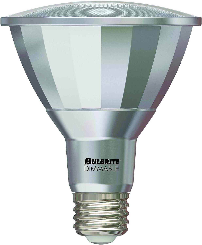 Bulbrite LED Plus PAR30LN Dimmable Medium Screw Base E26 Wet Rated Narrow Flood Light Bulb 75 Watt Equivalent 3000K 1-Pack