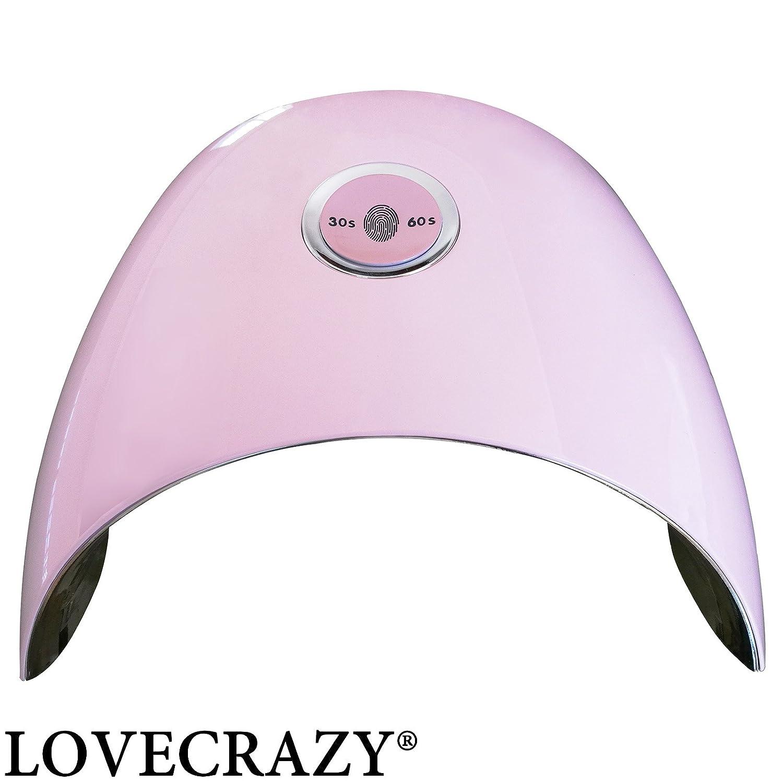 48W LOVECRAZY® Lámpara de Uñas Gel Luz Secador de UV de LED oeQrxCdBW