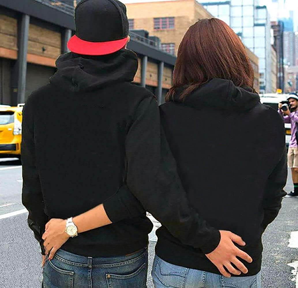 Couple Hoodies Beauty Beast Pullover Partner Pärchen King King King Queen Sweatshirt B07FNFLT15 Kapuzenpullover Elegante Farbe d5b31c