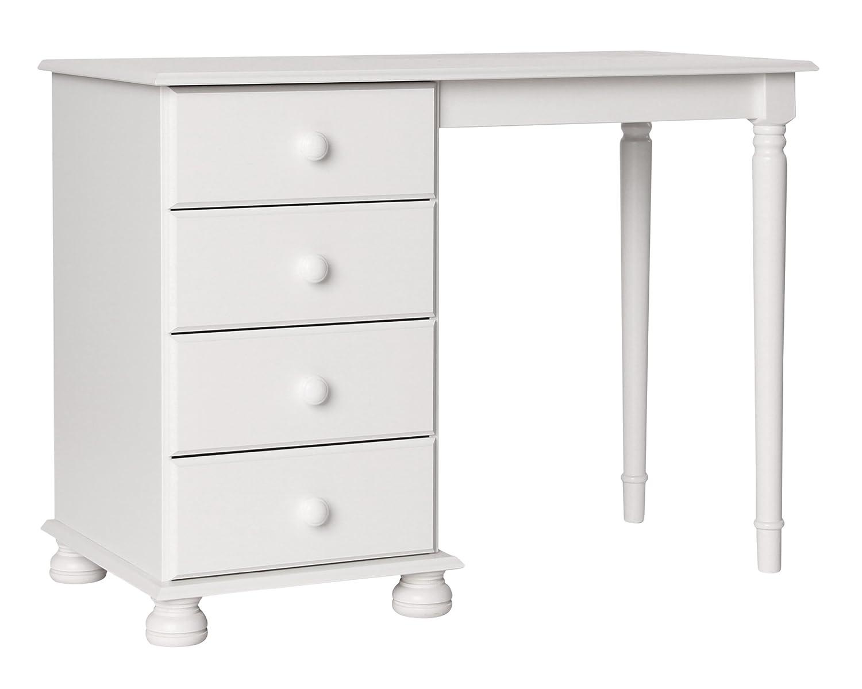 Furniture To Go Copenhagen Single Dressing Table, 74 x 101 x 48 cm, White NJA Furniture 1010701
