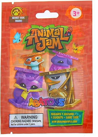 Amazon Com Wildworks Animal Jam Pack 5 Blind Bags Includes