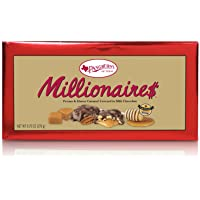 Pangburns Millionaire$ Candy, 9.75 Ounce Box, Pangburn's Millionaires Candy, Buttery Pecans, Creamy Caramel, Honey, and Mouthwatering Milk Chocolate; Texas Born, and Loved by All