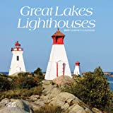 Great Lakes Lighthouses 2019 7 x 7 Inch Monthly
