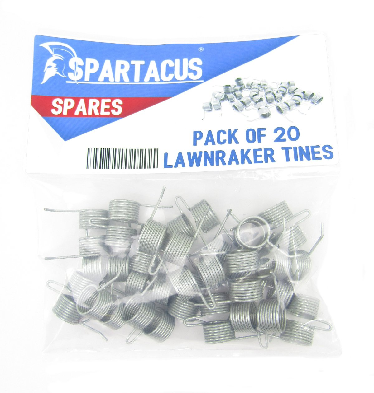 20 x Spartacus Replacement Lawn Raker Scarifier Tines Tynes For Bosch F016T47920