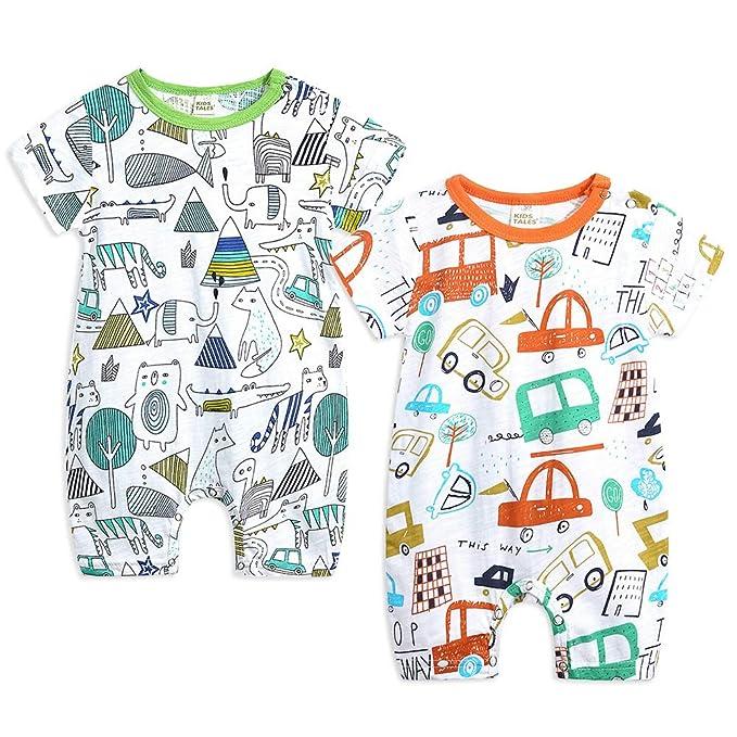 Amazon.com: Simplee Kids 4 de julio Bebé Unisex Trajes Mi ...