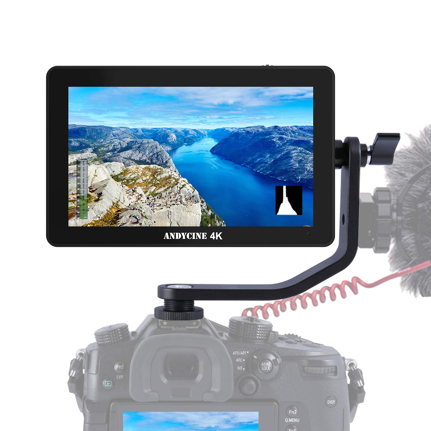 ANDYCINE A6 Plus 5.5inch Touch IPS 1920X1080 4K HDMI Camera Monitor 3D Lut Camera Video Field Monitor by ANDYCINE