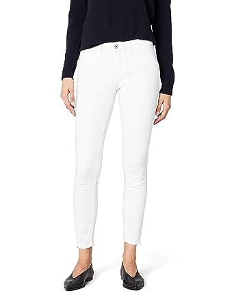ONLY Damen Jeanshose Onlkendell Reg Sk ANK Jea Cre-White Noos  Amazon.de   Bekleidung b58a7cfa38