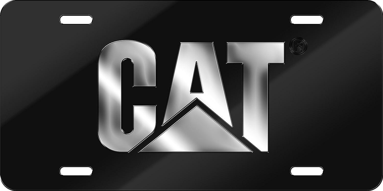 Chroma 002032 Acrylic 'CAT' Inlay Tag License Plate