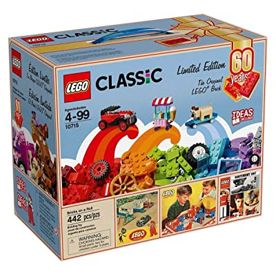LEGO Classic Bricks on a Roll 10715 - 60th Anniversary Limited Edition - 442 Pieces Exclusive: Toys & Games