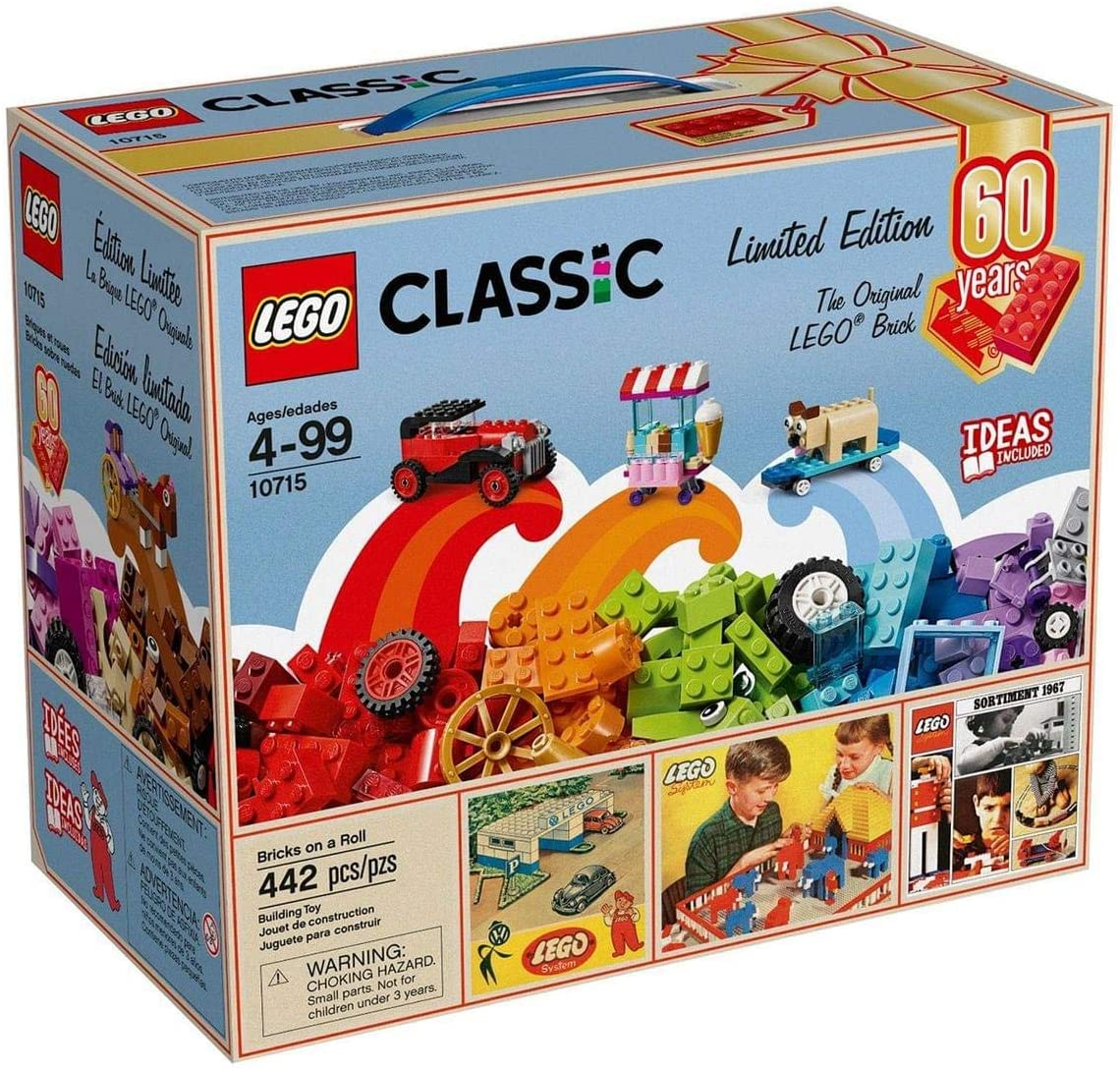LEGO Classic Bricks On A Roll 442-Piece Building Kit - 60th Anniversary Limited Edition: Amazon.es: Juguetes y juegos