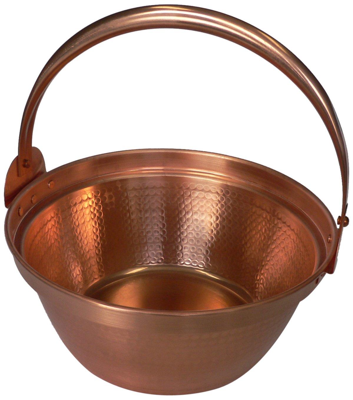 丸新銅器 銅製 山菜鍋 27cm   B00H4PUBXA