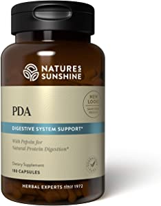 Nature's Sunshine PDA Combination 180 Capsules