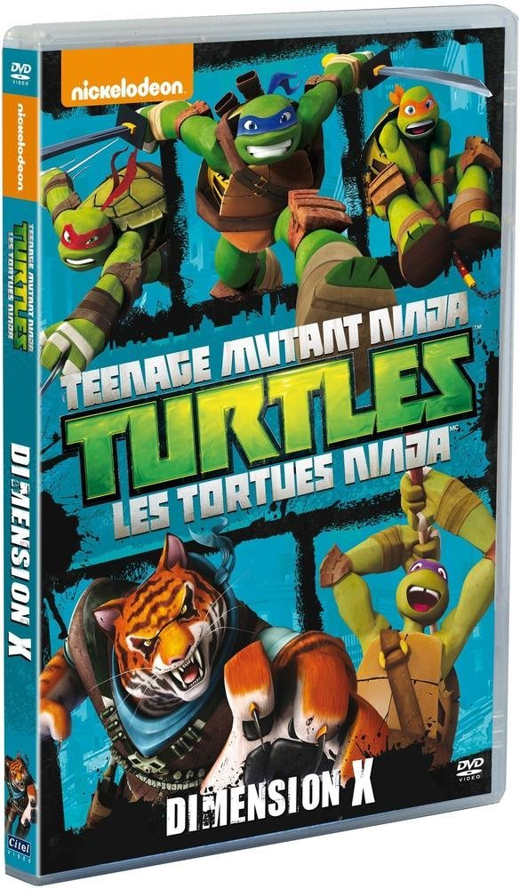 Les Tortues Ninja - Vol. 8 : Dimension X Francia DVD: Amazon ...