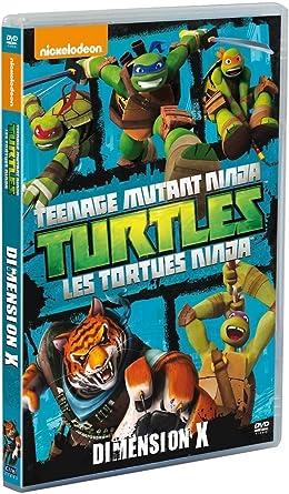 Les Tortues Ninja - Vol. 8 : Dimension X Francia DVD: Amazon ...