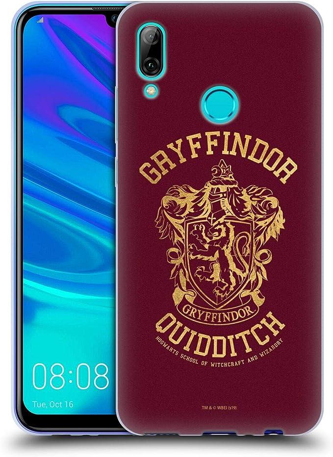 Head Case Designs Offizielle Harry Potter Gryffindor Quidditch Deathly Hallows X Soft Gel Handyhülle Hülle Huelle