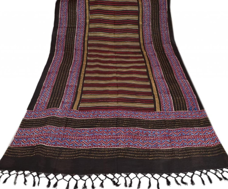 Women New Dupatta Stole Cotton Printed Scarf Floral Veil Multi