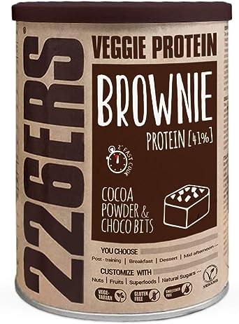 226ERS Evo Vegan Protein Brownie | Brownies de Proteína Veganos, Mezcla con Harina de Teff, Cocoa & Choco Bits - 420 gr