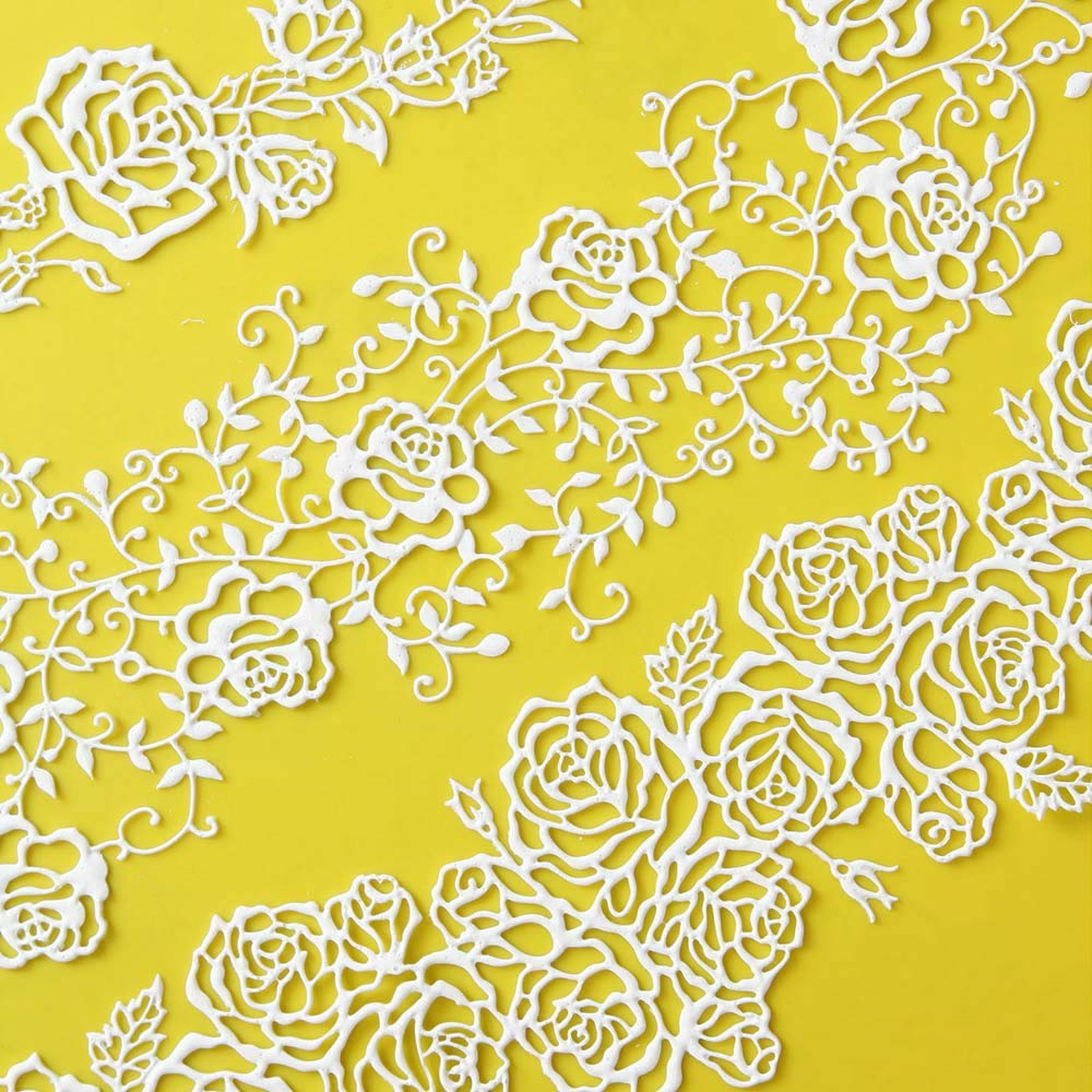 Rose Line Garland Silicone Lace Mat by Chef Alan Tetreault by ALAN TETREAULT SELECT PRODUCTS (Image #3)