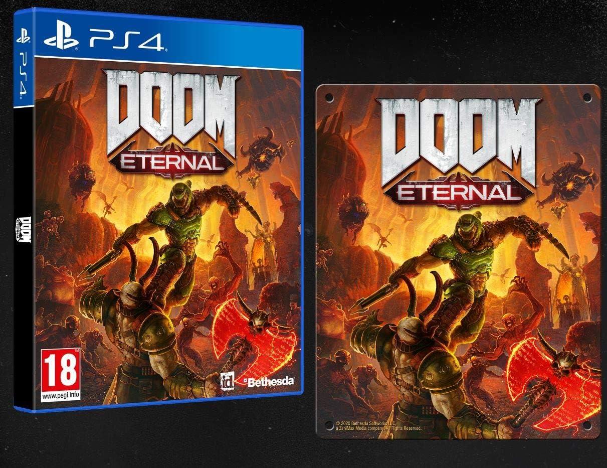 #Videojuego Doom Eternal (Edición Exclusiva Amazon) por 59,90€ ¡¡14% de descuento!!
