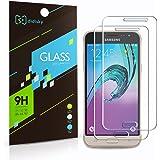 Didisky 2 Pack Samsung Galaxy J3 2016 Pellicola Protettiva, Pellicola Protettiva in Vetro Temperato Per Samsung Galaxy J3 [Tocco Morbido ] Facile da Pulire, Facile da installare, Garanzia a Vita
