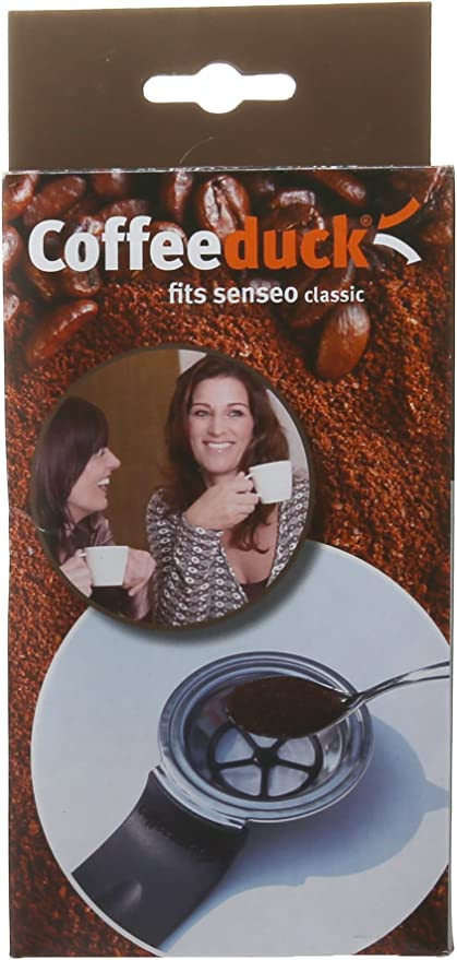 Noble 124422 Coffeeduck Classic - Filtro de larga duración para Philips Senseo HD7810/7812: Amazon.es: Hogar