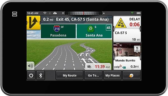 """Magellan SmartGPS 5295 5/"""" Navigation System with Social Media"""