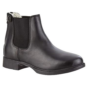 Kinder Stiefeletten Boots Echt-Leder Jodhpur Stiefeletten braun /& Schwarz