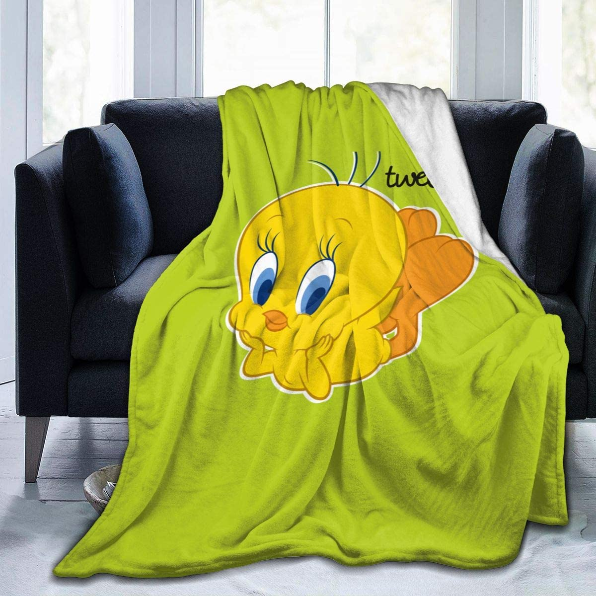 Tweety Bird Sherpa Fleece Blanket
