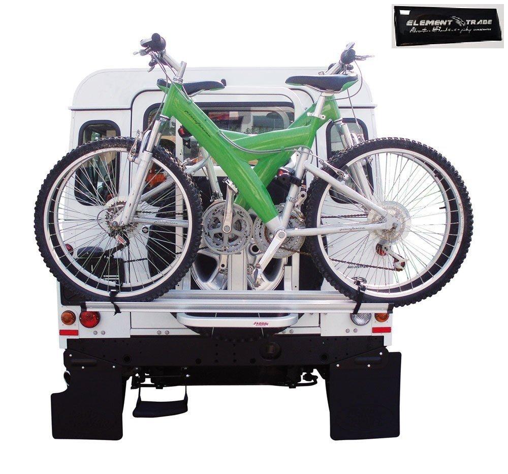 Porte-vélos pour 2Vélos Gringo Bici + élément Trade Stickers