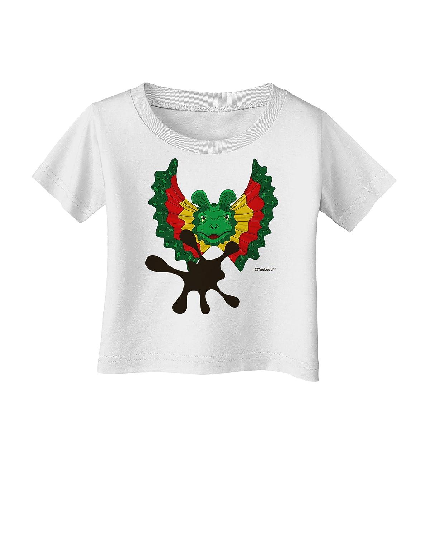 TooLoud Dilophosaurus Design Spit Infant T-Shirt
