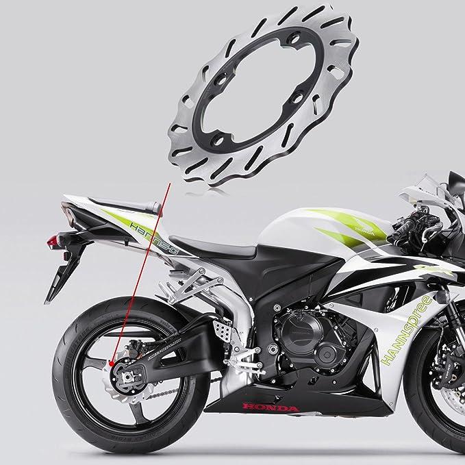 Ambienceo Motorrad Hinten Bremsscheibe Rotor Auto