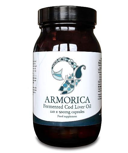 Armorica Aceite de hígado de bacalao fermentado (cápsulas de 120 x ...