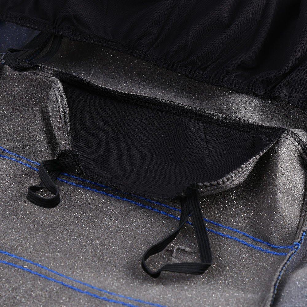 9 Piezas Juego completo de fundas para asientos de coche universales