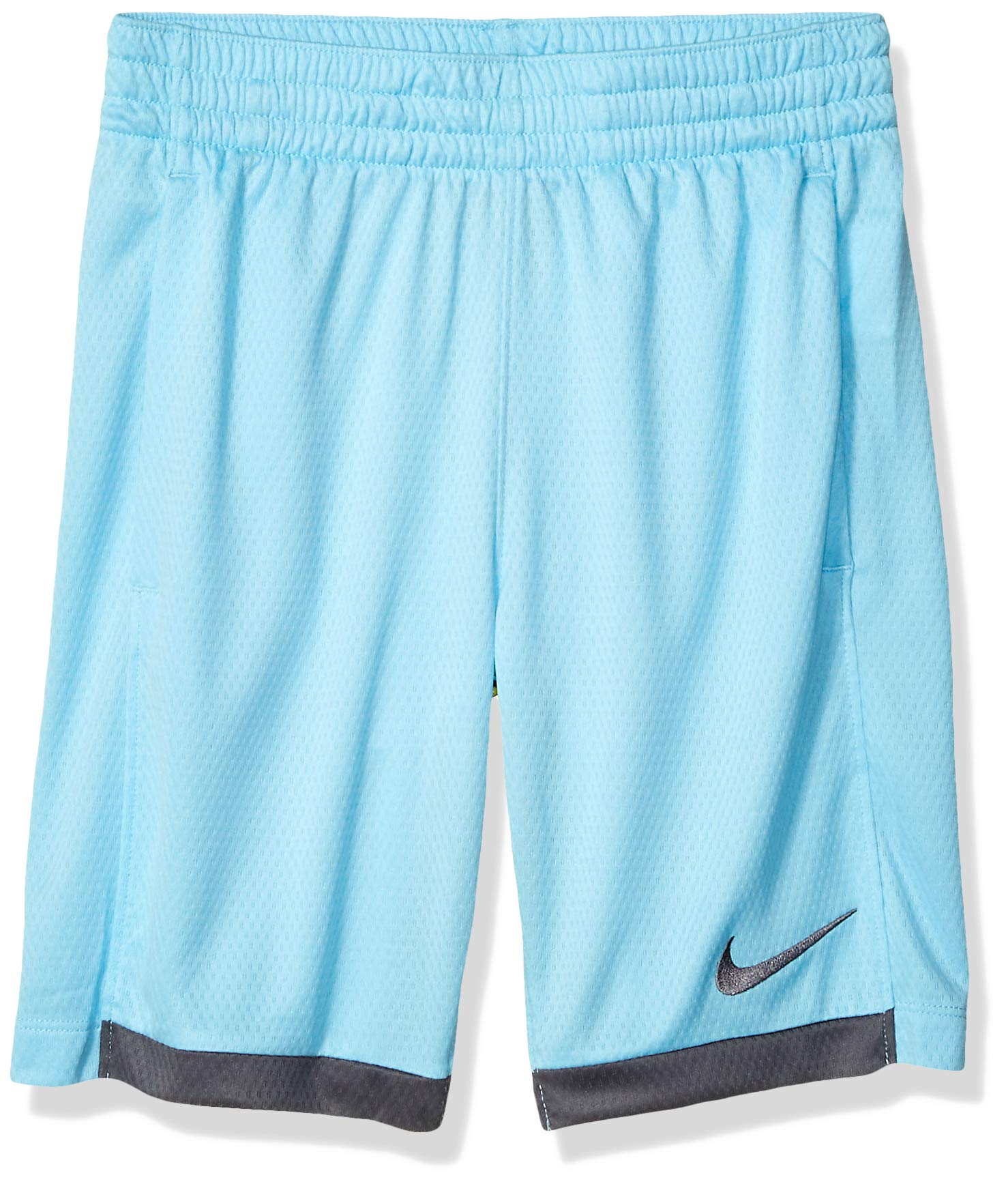 Nike Boy's Dry Short Trophy, Blue Gaze/Dark Grey/Dark Grey, X-Small