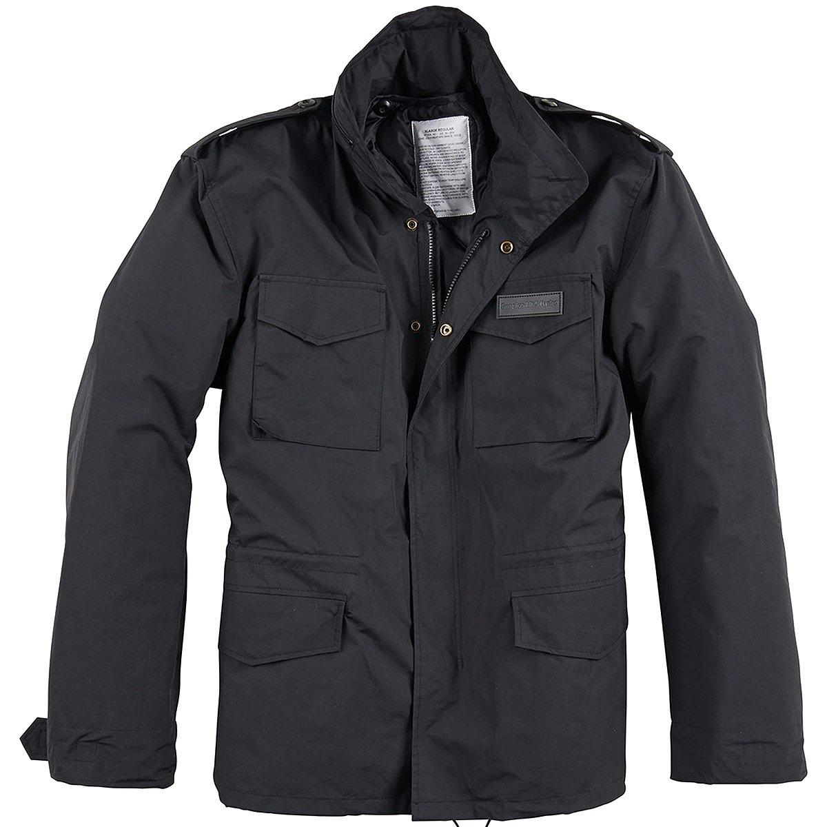 Surplus M65 Hydro US Field Jacket Black Size XL