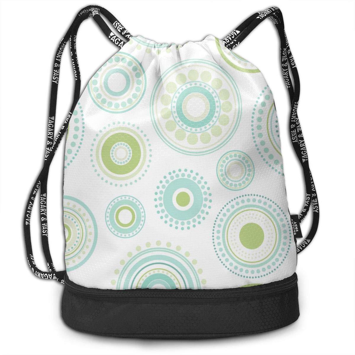 Bundle Backpacks Bright Artistic Splashes Gym Sack Drawstring Bags Casual Daypack Yoga Bag School Training Pouch