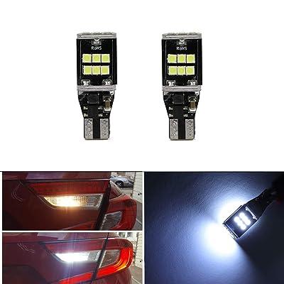 915 916 917 918 920 921 T15 Reversing Light Bulbs Backup Light with 15pcs 3030 SMD LED Brake Tail Lights DRL Daytime Running Light Bulbs: Automotive [5Bkhe0409116]