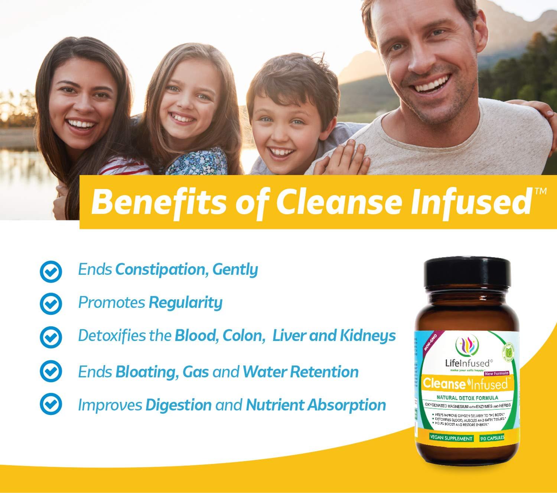 Amazon.com: Life Infused® Cleanse InfusedTM un limpiador de ...