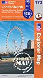 London North (OS Explorer Map Active)