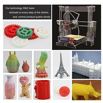 Elepawl - Kit de Impresora 3D de filamento Original Anet-A8 ...