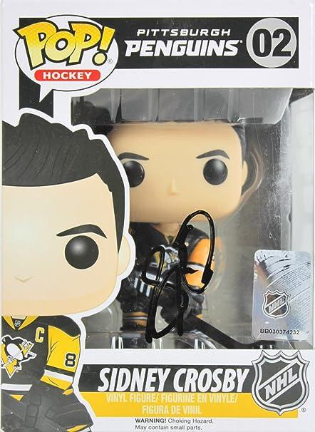 d2531d14b39 Amazon.com  Penguins Sidney Crosby Authentic Signed Funko Pop Vinyl Figure  BAS  D71958  Sports Collectibles
