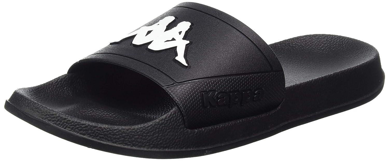 Kappa Pepito - Chanclas unisex, color negro/blanco: Amazon.es: Zapatos y complementos