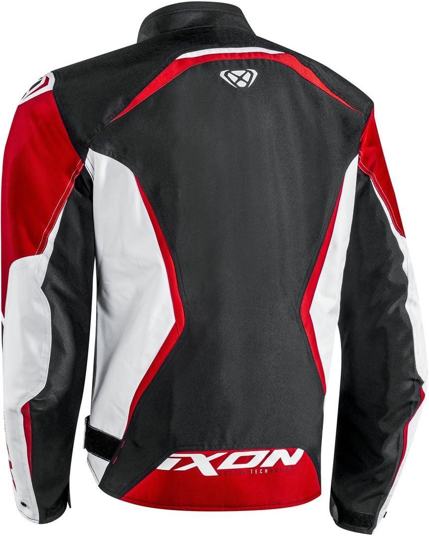 Ixon Chaqueta moto Sprinter Negro//Amarillo 1001010691072XS NC XS