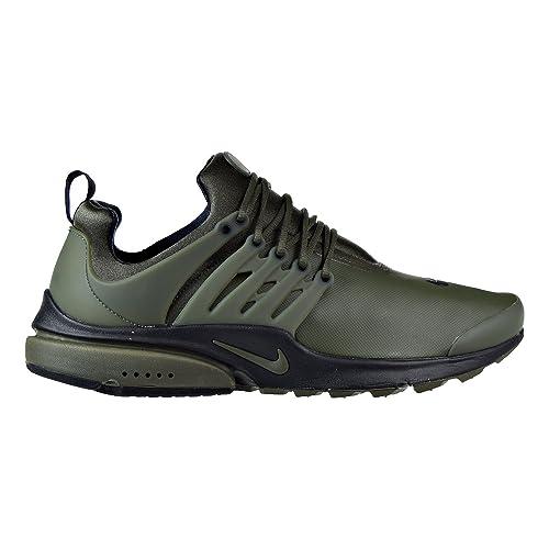 brand new ca8e0 46b1e Nike Uomo, Air Presto Low Utility Cargo Khaki, Tessuto Tecnico, Sneakers,  Verde