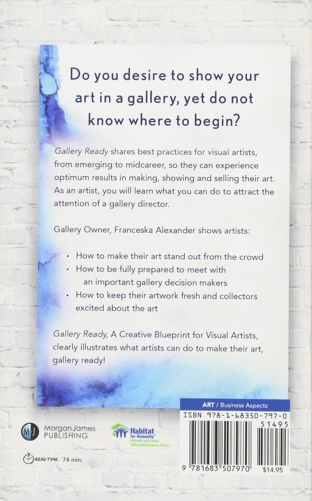 Amazon gallery ready a creative blueprint for visual artists amazon gallery ready a creative blueprint for visual artists 9781683507970 franceska alexander books malvernweather Image collections