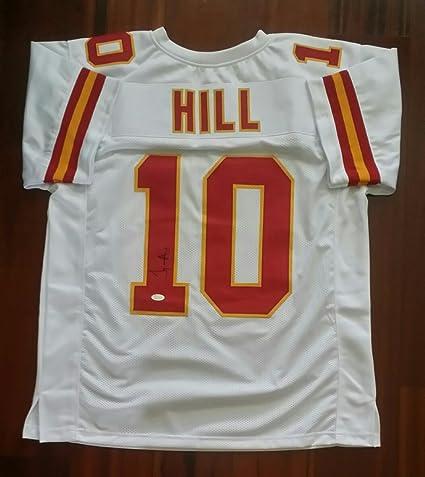 best loved e4f6f 39968 Tyreek Hill Autographed Signed Jersey Kansas City Chiefs JSA ...