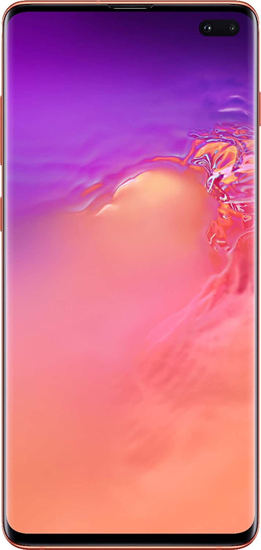 Samsung Galaxy Cellphone - S10+ Plus AT&T Factory Unlock (Flamingo Pink, 128GB)