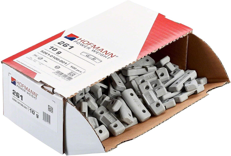 Sicherheitsgewicht Felge Typ261 10g 100x Auswuchtgewicht Stahlfelge Alufelge