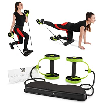 Tora fitness in resistance band home workout machine