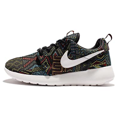 buy popular 135e2 06f0b Image Unavailable. Image not available for. Color  Nike Women s Wmns Roshe  One JCRD BHM QS, BLACK SUMMIT WHITE-NOBLE RED